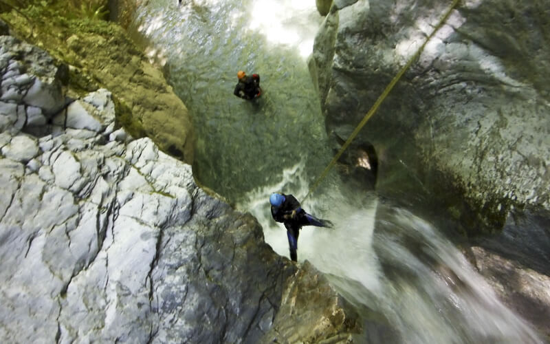 Canyoning Parco Nazionale del Pollino